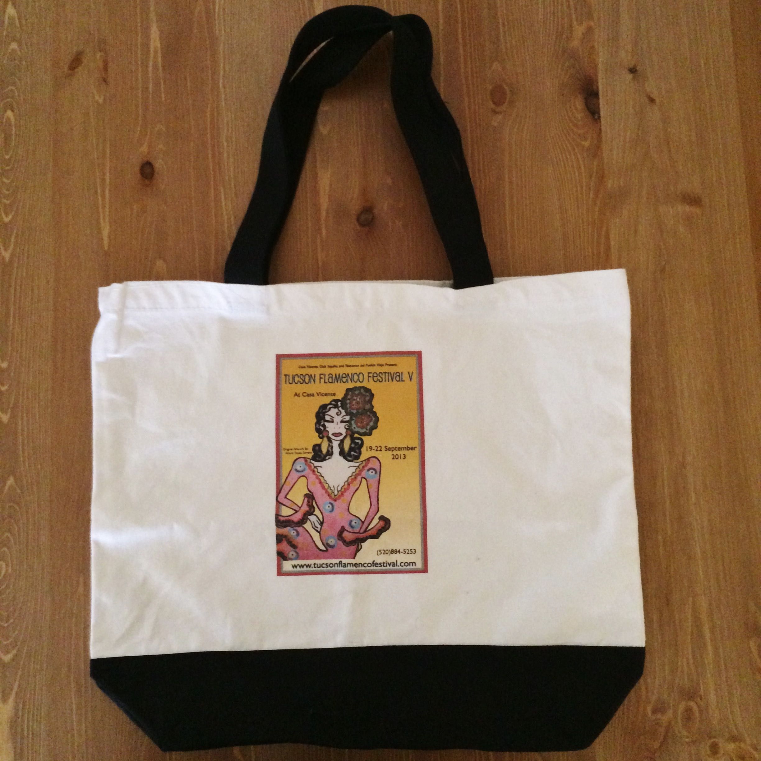 Tote Bag with Poster Image